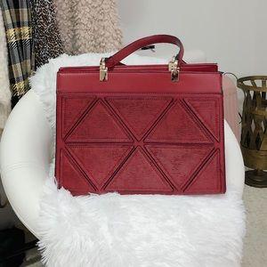 Red tote/shoulder bag
